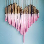 Подарки к праздникам handmade. Livemaster - original item Driftwood Sweet heart. Handmade.