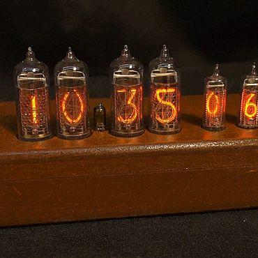 Для дома и интерьера ручной работы. Ярмарка Мастеров - ручная работа Nixie Clock на газоразрядных индикаторах. Handmade.