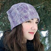 Аксессуары handmade. Livemaster - original item hat felted. Hat made of wool. Warm hat.. Handmade.