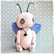 Куклы и игрушки ручной работы. Ярмарка Мастеров - ручная работа бабочка тедди. Handmade.