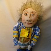 Куклы и игрушки ручной работы. Ярмарка Мастеров - ручная работа Кукла Домовенок. Handmade.