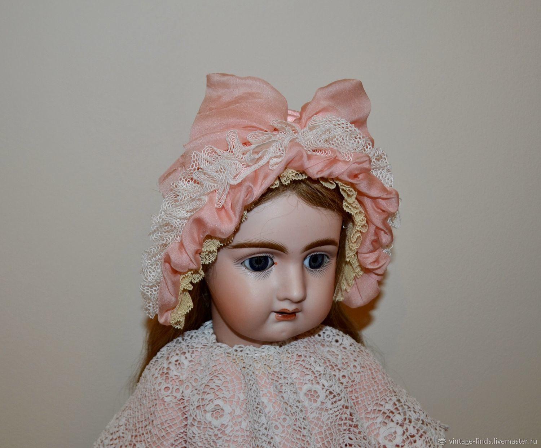 Бонет для антикварной куклы, Одежда для кукол, Вышний Волочек,  Фото №1