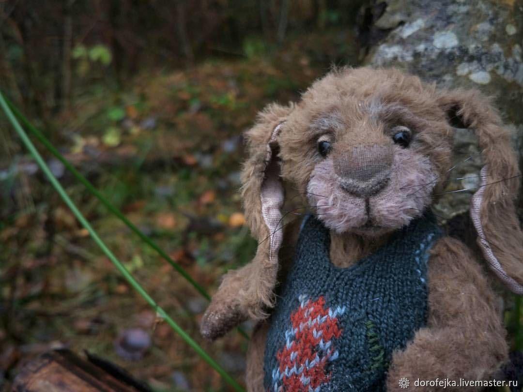 Кролик-дедушка. Кролик Тедди, Игрушки, Санкт-Петербург, Фото №1