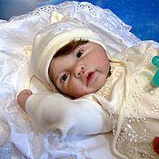 Куклы и игрушки ручной работы. Ярмарка Мастеров - ручная работа Кукла реборн Аделинка. Handmade.