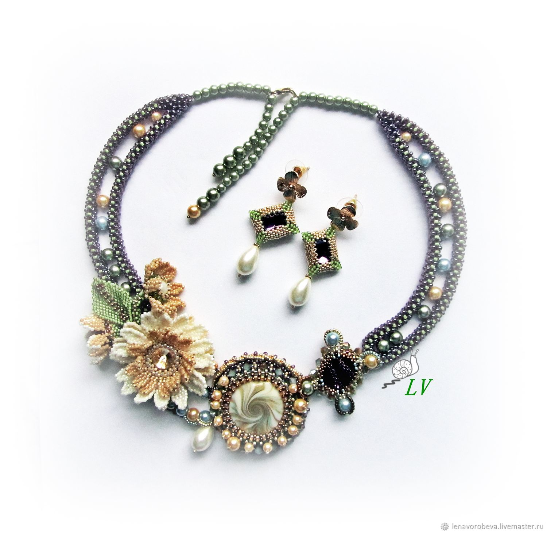 'Kaleidoscope of desires' Necklace earrings, Jewelry Sets, Voronezh,  Фото №1