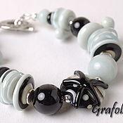 Bead bracelet handmade. Livemaster - original item Bracelet Laguna. Handmade.