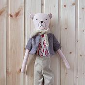 Куклы и игрушки ручной работы. Ярмарка Мастеров - ручная работа Медвежонок Сеня. Handmade.