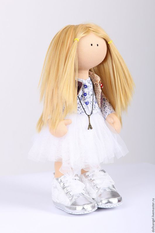 Коллекционные куклы ручной работы. Ярмарка Мастеров - ручная работа. Купить Кукла Тресси. Handmade. Комбинированный, кукла текстильная
