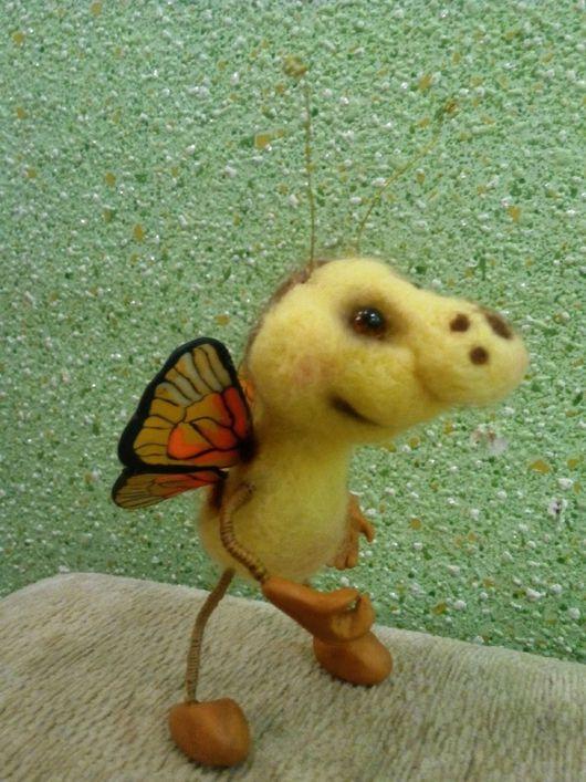 Игрушки животные, ручной работы. Ярмарка Мастеров - ручная работа. Купить Жучки насекомые валяные из шерсти. Handmade. Валяная игрушка