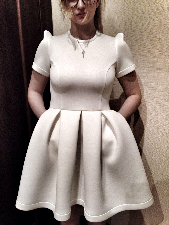 Материал неопрен платье