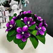 handmade. Livemaster - original item In stock!Bouquet-night light of violets