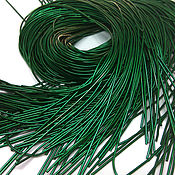 Материалы для творчества handmade. Livemaster - original item Kanitel soft smooth No. №774 green 1 mm. Handmade.