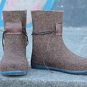 """Обувь ручной работы. Ярмарка Мастеров - ручная работа Валенки демисезонные """"Style """"mari_tyme"""". Handmade."""