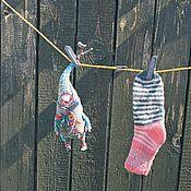 Куклы и игрушки ручной работы. Ярмарка Мастеров - ручная работа Гном Носок Зеленый. Handmade.