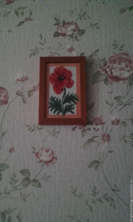 цветок, мак