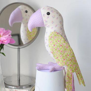 Куклы и игрушки ручной работы. Ярмарка Мастеров - ручная работа Попугай Тильда. Handmade.