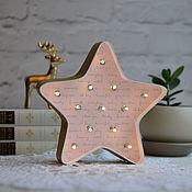 Для дома и интерьера handmade. Livemaster - original item Home decor Star Lamp. Handmade.