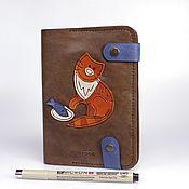 """Канцелярские товары ручной работы. Ярмарка Мастеров - ручная работа Блокнот для зарисовок """"Рыжий"""" SB-015. Handmade."""