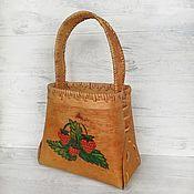 Русский стиль handmade. Livemaster - original item dishes: Basket of birch bark.