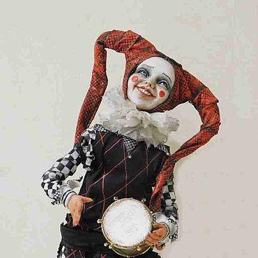 Куклы и игрушки ручной работы. Ярмарка Мастеров - ручная работа Куклы: Веселый шут. Handmade.