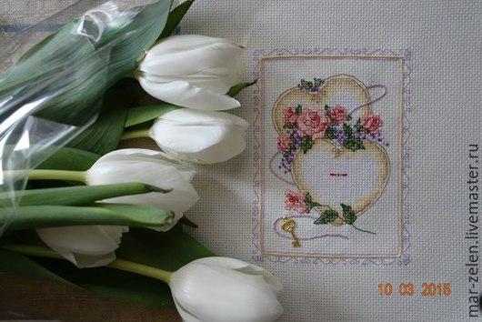 Подарки для влюбленных ручной работы. Ярмарка Мастеров - ручная работа. Купить Свадебная метрика (ручная вышивка). Handmade. Разноцветный, метрика