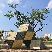 Для дома и интерьера ручной работы. Ярмарка Мастеров - ручная работа Детская площадка Скалы. Handmade.