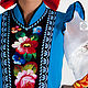 Russian folk costume ' Zhostovo'. Suits. SLAVYANKA. My Livemaster. Фото №5