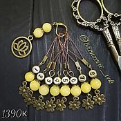 Материалы для творчества handmade. Livemaster - original item A set of markers for knitting 1390. Handmade.