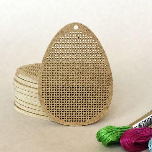 """Вышивка ручной работы. Ярмарка Мастеров - ручная работа. Купить Основа для вышивания """"Яйцо"""". Handmade. Бежевый, вышивка, основа для вышивки"""
