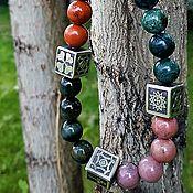 Украшения handmade. Livemaster - original item Bracelet made of natural stones.. Handmade.