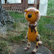 Куклы и игрушки ручной работы. Ярмарка Мастеров - ручная работа Лев. Handmade.