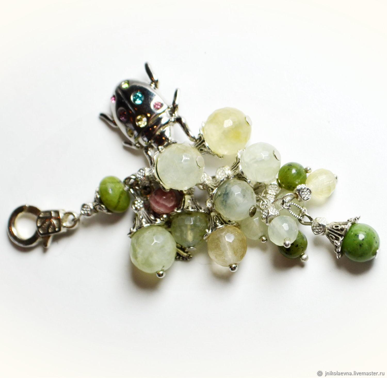 Брелок для ключей Весенний жук