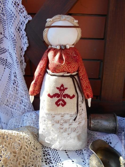 """Народные куклы ручной работы. Ярмарка Мастеров - ручная работа. Купить """"Макошь"""". Кукла-оберег.. Handmade. Белый, оберег"""