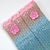 Аксессуары handmade. Livemaster - original item Knitted women`s mitts