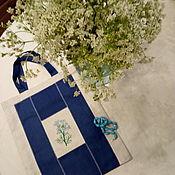 Сумки и аксессуары handmade. Livemaster - original item Bag: Bag-eco bag with embroidery on both sides. Handmade.