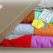 Для дома и интерьера ручной работы. Ярмарка Мастеров - ручная работа Одеяло лоскутное детское. Handmade.