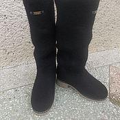 """Обувь ручной работы. Ярмарка Мастеров - ручная работа Сапоги женские валяные """" Яна"""". Handmade."""
