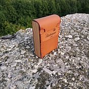 Сумки и аксессуары handmade. Livemaster - original item Cigarette case genuine leather. Handmade.