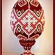 Яйца ручной работы. яйцо оплетёное бисерное пасхальное. 'Королевство сувениров' (Svetik79). Интернет-магазин Ярмарка Мастеров. Яйцо пасхальное