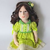 Куклы и игрушки handmade. Livemaster - original item Textile doll in sculptural technique. Big doll talker. Handmade.