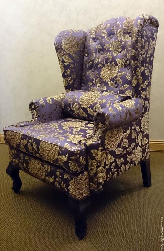 Мебель ручной работы. Ярмарка Мастеров - ручная работа. Купить Кресло каминное классическое. Handmade. Комбинированный, кресло, кресло с ушами