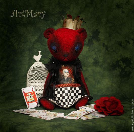 Мишки Тедди ручной работы. Ярмарка Мастеров - ручная работа. Купить Ирацебета. Handmade. Ярко-красный, мишки тедди, ленты