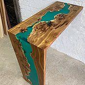 Для дома и интерьера handmade. Livemaster - original item Bar counter made of slabs of elm