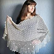 Аксессуары handmade. Livemaster - original item Shawls, stoles of cotton. Handmade.