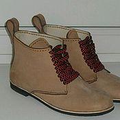 Обувь ручной работы. Ярмарка Мастеров - ручная работа Ботинки весна-осень.. Handmade.