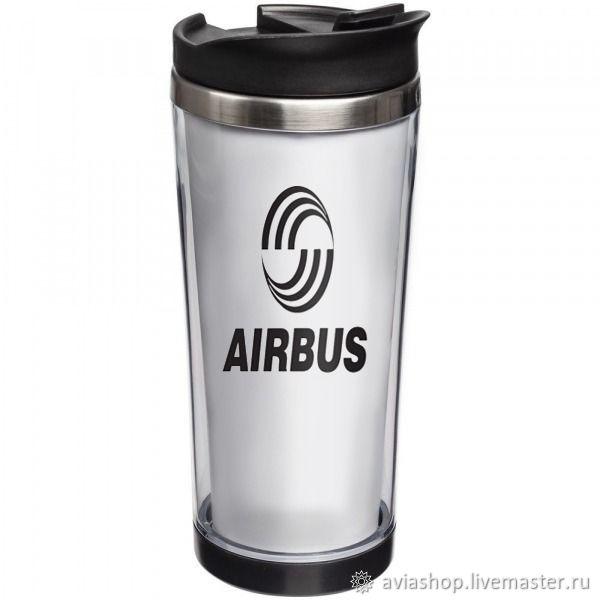 "Термокружка с принтом: ""Airbus"", Кружки, Москва,  Фото №1"