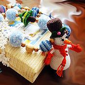 """Одежда ручной работы. Ярмарка Мастеров - ручная работа Слингобусы """"Снеговик"""". Handmade."""