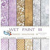"Набор бумаги ""Wet paint III"" 30х30 см 12 листов GP"