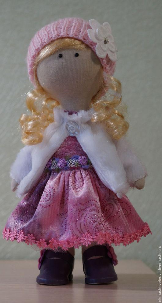 Куклы тыквоголовки ручной работы. Ярмарка Мастеров - ручная работа. Купить Кукла Вика. Handmade. Комбинированный, интерьерная кукла