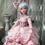 Куклы и игрушки handmade. Livemaster - original item boudoir doll: Malvina, a collectible doll. Handmade.